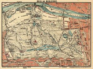 1929, France, Bois de Boulogne