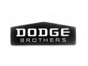 1930 Dodge Brothers Name Plate