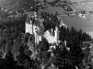 1930s-1940s Aerial of Neuschwanstein Castle
