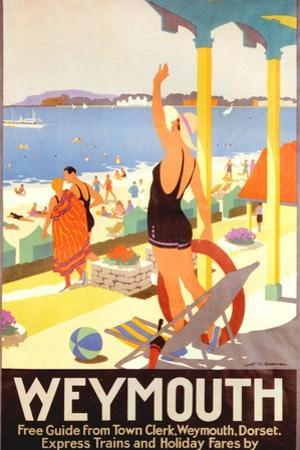 1930s UK Southern Railway Poster