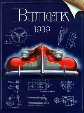 1930s USA Buick Magazine Advertisement