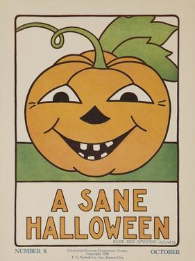 1932 American Citizenship Poster a Sane Halloween
