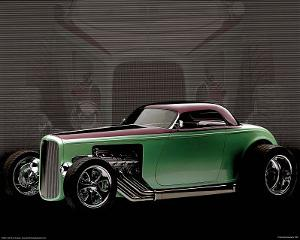 1932 Ford Roadster Classic Car Art Print Poster
