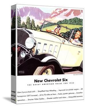 1932 GM New Chevrolet Six