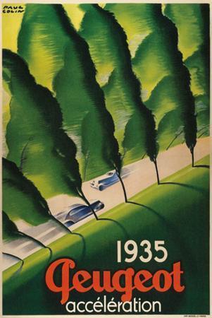 1935 Peugeot Acceleration