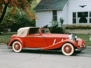 1936 Mercedes Benz 500K Sedanca Drophead
