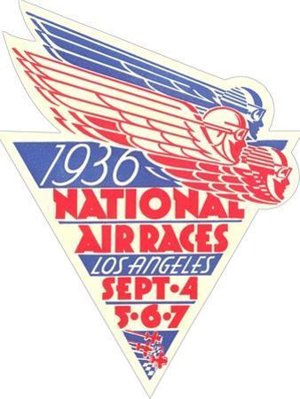 1936 National Air Races Logo