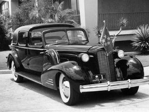 1937 Cadillac V12 Car Built for President Quezon of the Philippines, (C1937)
