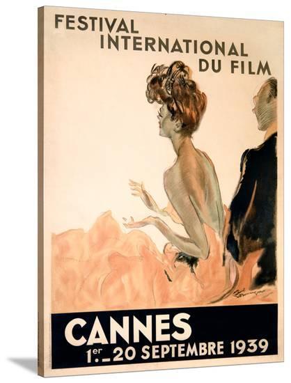 1939 Cannes Film Festival-Jean Gabriel Domergue-Stretched Canvas
