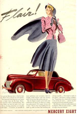 1939 Mercury Eight Flair
