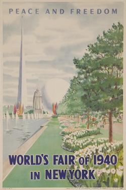 1940 New York World's Fair Poster