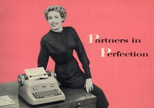 1940s UK Typewriters Magazine Advertisement (detail)