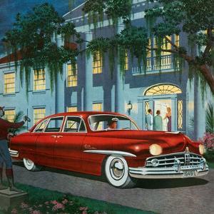 1940s USA Lincoln Magazine Advert (Detail)