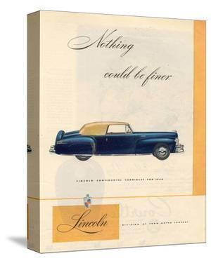 1946 Lincoln Continental Cabri