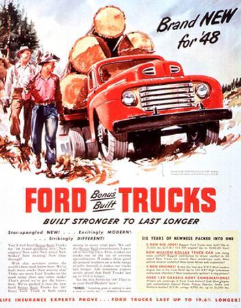 1948 Ford Truck-Built Stronger