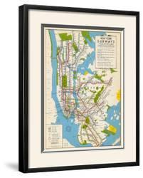 Blank Nyc Subway Map.Affordable New York City Subway Posters For Sale At Allposters Com