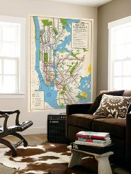 Subway Map Wall Art Wall Art Stickers Wall Decal Huge Underground Tube Map.Affordable Subway Station Posters For Sale At Allposters Com