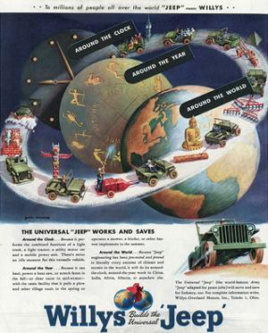 1949 Willys-The Universal Jeep