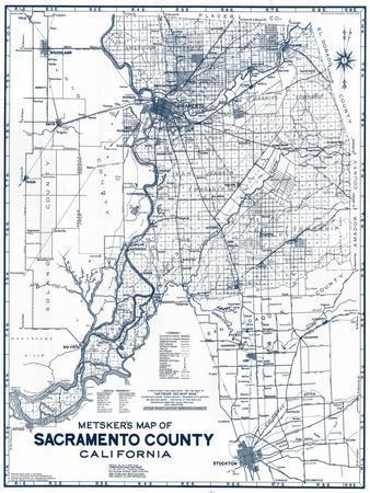 Sacramento us map