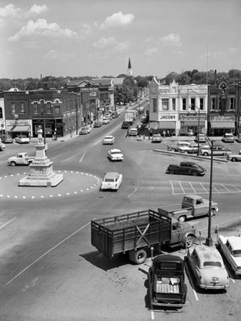 1950s Main Street of Small Town America Town Square Lebanon Tennessee
