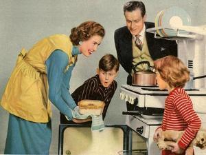 1950s UK Housewife Magazine Plate