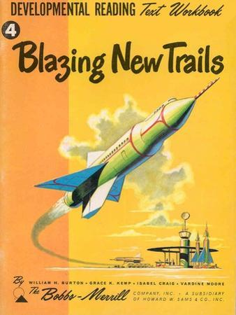 1950s USA Blazing New Trails Book Cover