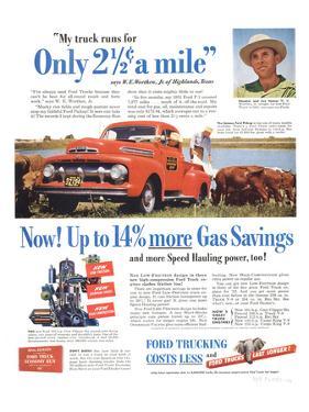 1951 Ford Trucks Last Longer