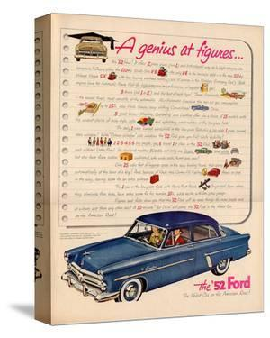 1952 Ford- a Genius at Figures