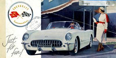 1953 GM Corvette Just for Fun