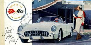 1953 GM Corvette Just for Fun
