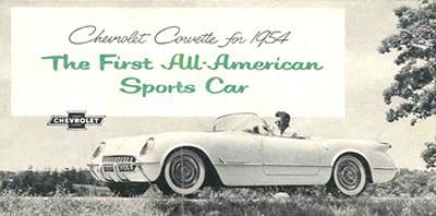 1954 GM Corvette Sports Car