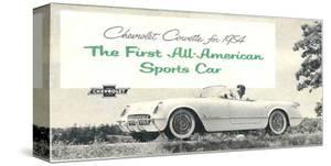 1954 GM Corvette Sports Car