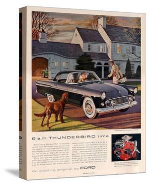 1955 6 A.M. Thunderbird Time