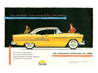 1955 GM Motoramic Chevrolet