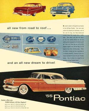 1955 GM Pontiac - Road to Roof