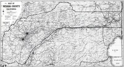 1955, Nevada County 1955c, California, United States