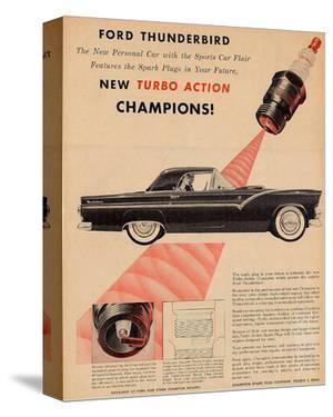 1955 Thunderbird-Turbo Action