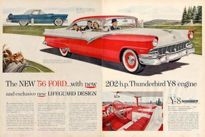 1956 Thunderbird Y-8 Engine