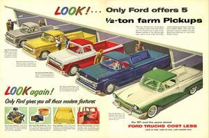 1957 Ford Offers 5½Ton Pickups