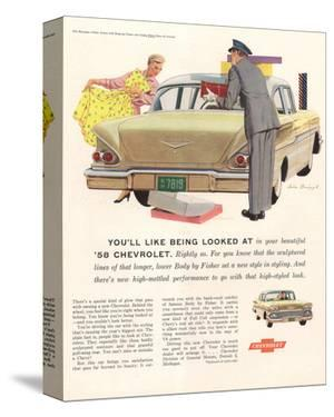1958 GM Chevy- Being Looked At