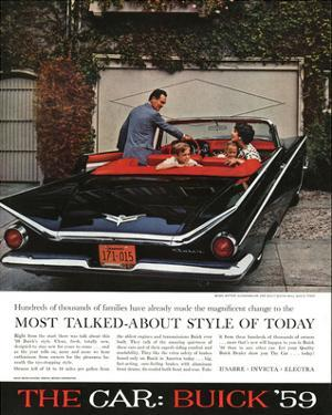 1959 GM Buick - Style of Today