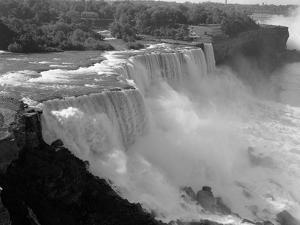 1960s American Falls Portion of Niagara Falls New York