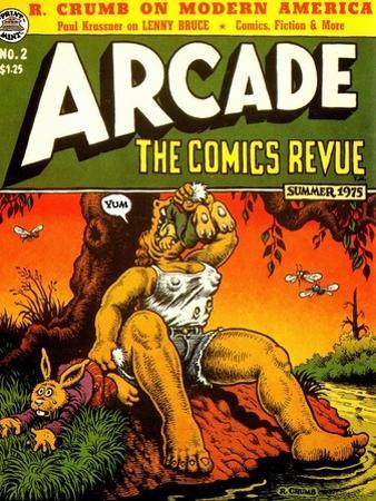 1960s USA Arcade Comics Comic/Annual Cover