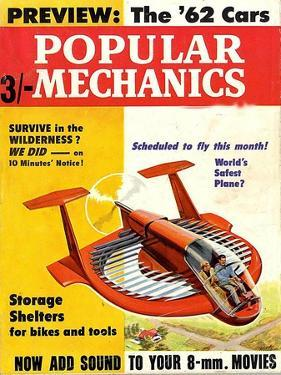1960s USA Popular Mechanics Magazine Cover