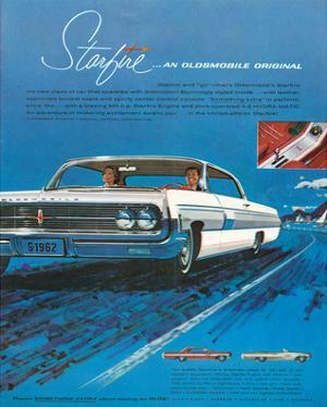 1962 GM Oldsmobile Starfire