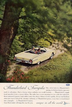1962 Thunderbird Turnpike