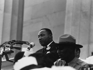 1963 March on Washington. Martin Luther King Delivering His 'I Have a Dream Speech.' Aug. 28, 1963