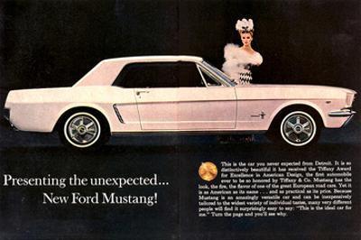 1964 Mustang - Tiffany Award