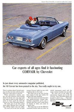 1965 GM Chevy Covair Praised