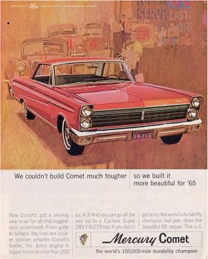 1965 Mercury More Beautiful
